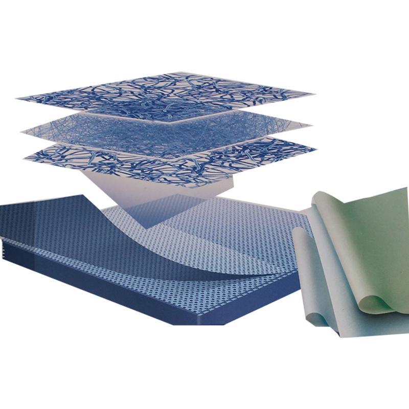 3M 医用双层无纺布包装材料 60*60cm 双层无纺布 (250张/箱)