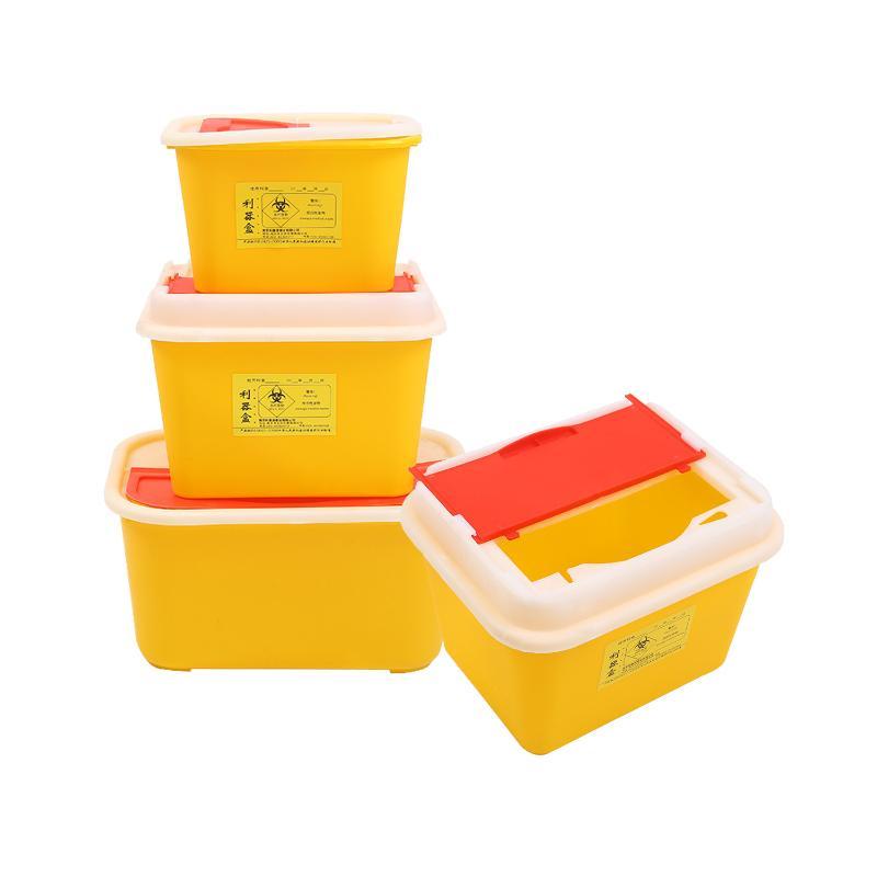 利鑫源 方形利器盒 15L  方形 (1个)