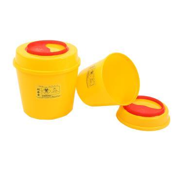 利鑫源  圆形利器盒 2L(200个/箱)
