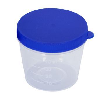 新康(XK) 痰杯 40ml X524 (手掀盖,瓶身标签)单包消毒 袋装(50只)