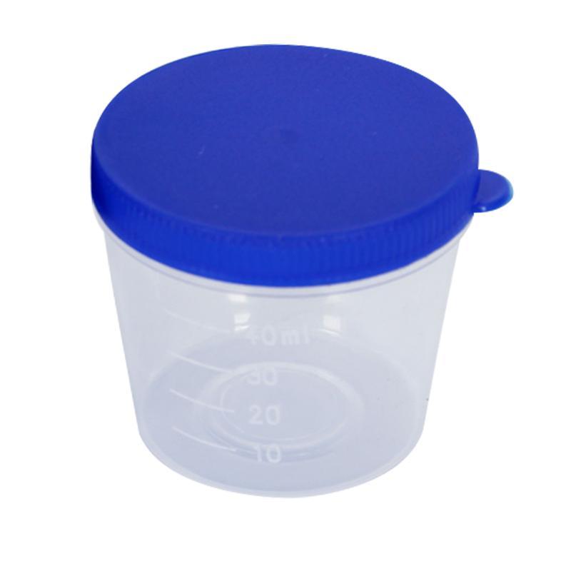 新康XK 痰杯 40ml(螺旋盖)单包消毒 (50只/袋) X522