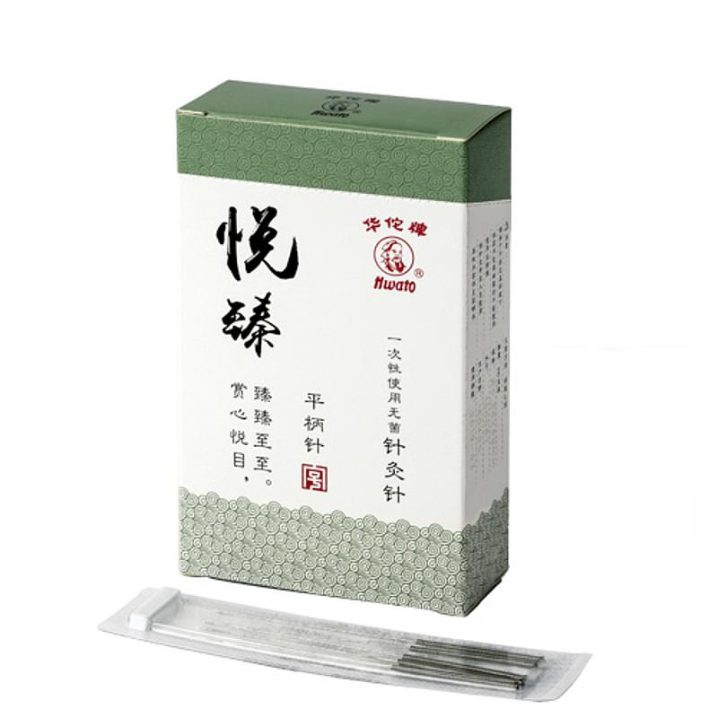 华佗Hwato 一次性使用无菌针灸针悦臻透析纸5x1 0.45*25mm