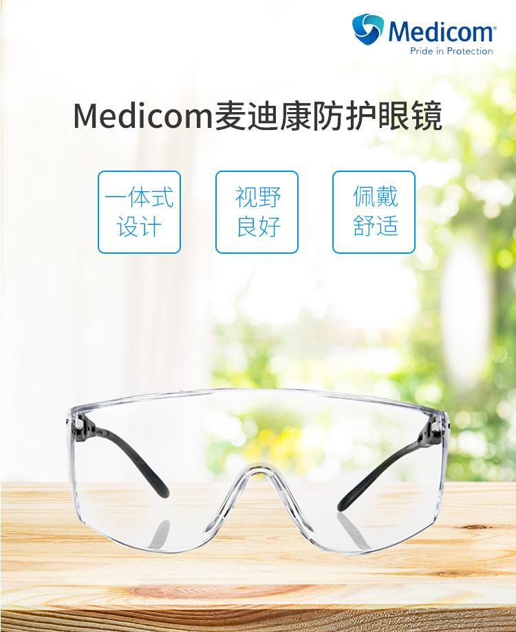 Medicom麦迪康防护眼镜详情_01.jpg